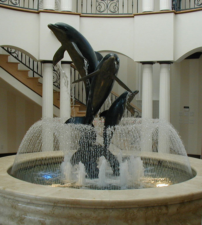 Commercial Water Fountain Company Water Feature Artist