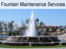 Water Fountain Maintenance Southwest Florida